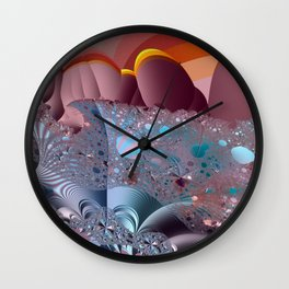 The creation process - Afterglow Wall Clock