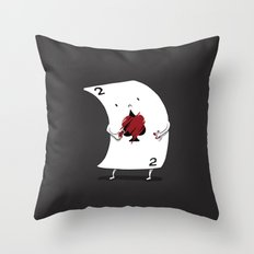 YOU CAN BE WHO YOU WANT TO BE. Throw Pillow