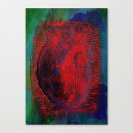 Dirty Heart Canvas Print