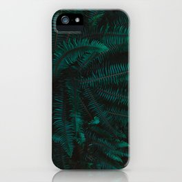 Blue Fern Twilight iPhone Case
