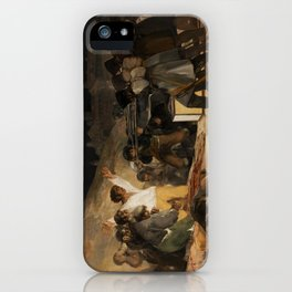 The Third of May by Francisco Goya iPhone Case