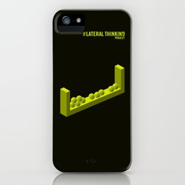 The LATERAL THINKING Project - Categorías iPhone Case