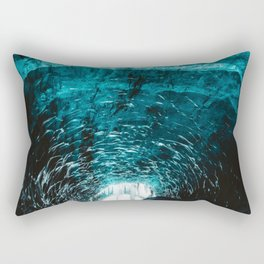 Ice Tunnel (Color) Rectangular Pillow