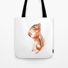 Chipmunk Wizard Tote Bag