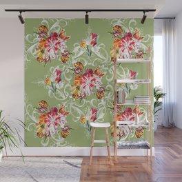 Romantic Tulips Wall Mural