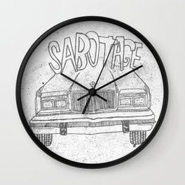 BEASTIE BOYS Y'ALL Wall Clock