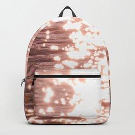 Sun glitter - blush gold Backpack