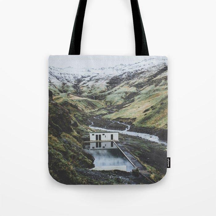 Seljavallalaug, Iceland Tote Bag