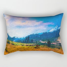 Our Loved Earth Rectangular Pillow