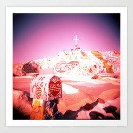 East Jesus California Art Print