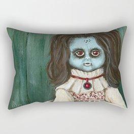 Creepy Christine Rectangular Pillow