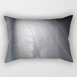 Sunrise in the Trump Forets. Rectangular Pillow