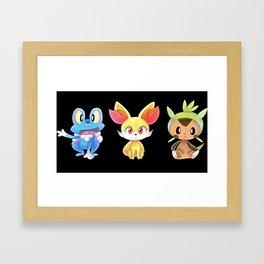 Kalos Starters Framed Art Print