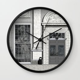 Window o1c Wall Clock