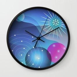 Planetary Party Wall Clock