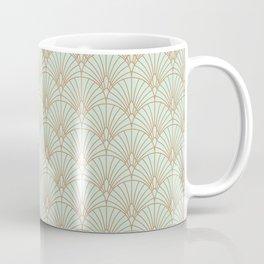 Art Deco fan pattern Coffee Mug