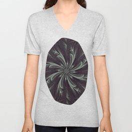 Out of the Darkness Fractal Bloom Unisex V-Neck