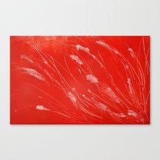 Red Tide Sea Grass Canvas Print