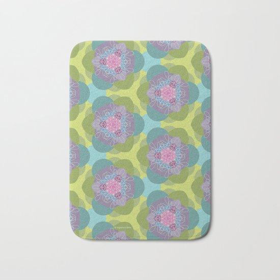 Springflower-Kaleidoscope Bath Mat