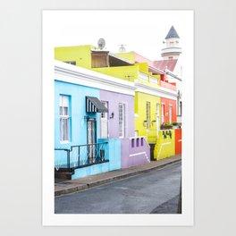 Bo Kaap Neighborhood Art Print