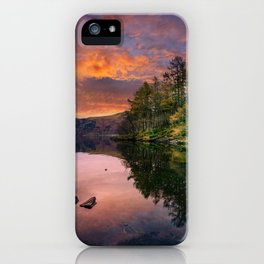 By the Lake Side iPhone Case