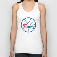 always sunny Tank Tops featuring It's Always Sunny and 76 by HuckBlade