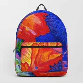 Japanese Poppy No.9 Backpack