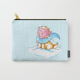 Snowy Monkey Carry-All Pouch