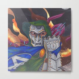 Dr Doom rules all Metal Print