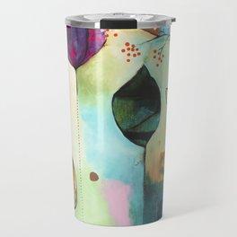 """Abundance"" Original Painting by Flora Bowley  Travel Mug"