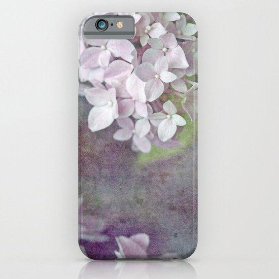 Vintage Pink Hydrangea iPhone & iPod Case