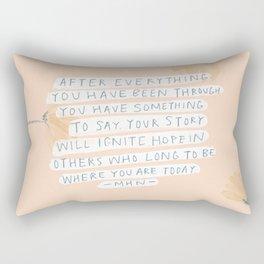 After Everything Rectangular Pillow
