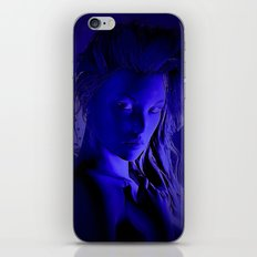 Midnight Girl iPhone & iPod Skin