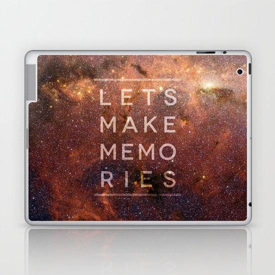 Let's Make Memories Laptop & iPad Skin