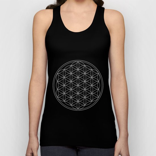 Pure Energy The Flower of Life Unisex Tank Top