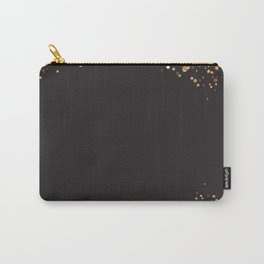 Black and gold #society6 Carry-All Pouch