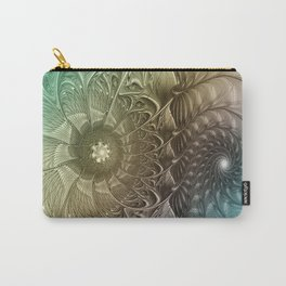 Togetherness, Fractal Art Abstract Carry-All Pouch