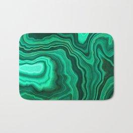 Malachite Texture 10 Bath Mat