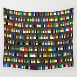 Color by Number: Pi Wall Tapestry