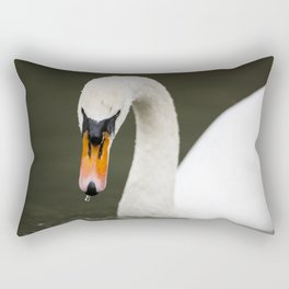 1046365 Mute Swan Rectangular Pillow