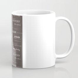 Life on a Chalkboard Coffee Mug