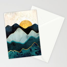 Glacial Hills Stationery Cards