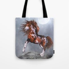 Native Horse Tote Bag