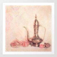 oriental Art Prints featuring ORIENTAL by INA Artist