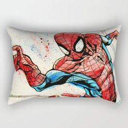 Web-Slinger Spider-Man Rectangular Pillow