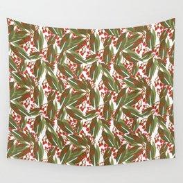 Flowering Gum - White Wall Tapestry