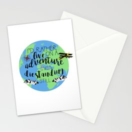 A Darker Shade of Magic Quote Stationery Cards