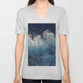 Ocean Waves Unisex V-Neck