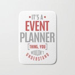 Event-Planner Bath Mat