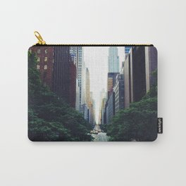 New York City Street Skyscapers Travel Wanderlust #tapestry Carry-All Pouch